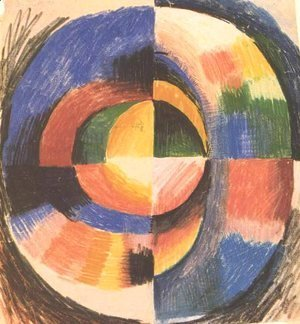 August Macke - Colour circle