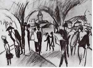 August Macke - Arcade in Thun