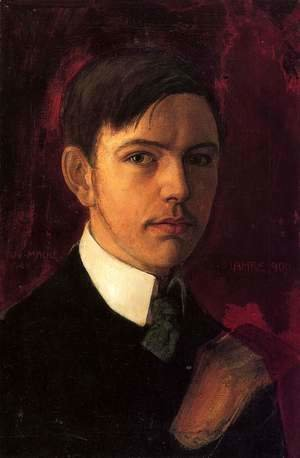August Macke - Self Portrait 1906