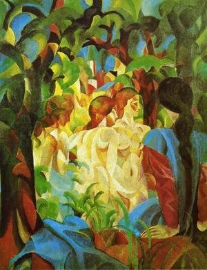 August Macke - GIRLS